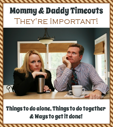 Man and woman drinking coffee with tired expressions - Guest Post from Stacy@huddlenet.com - Taking Mommy and Daddy Timeouts @ATIPicalDay #parenttimeouts #marriageenrichment #ican'tdoitalone #ideasforrelaxing