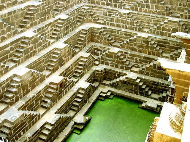 Chand Baori at Abhaneri, Rajasthan