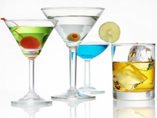 belleza y alcohol
