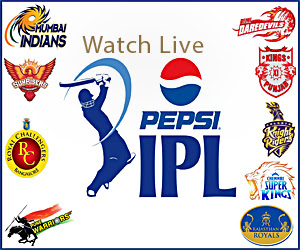 IPL T20 in 2013 Live Matches