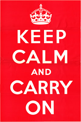 Fiori di bach: keep calm and carry on
