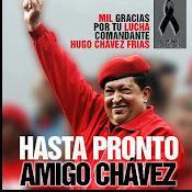 Chavez vive, la lucha sigue