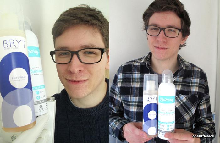One Little Vice Beauty Blog: Male beauty blog reviews