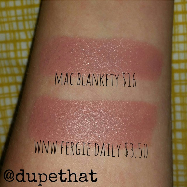 Dupethat: MAC Blankety Dupes: www.dupethat.com/2015/01/mac-blankety-dupe.html