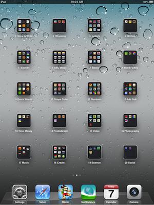 randi lembke: ipad app organization in k-1