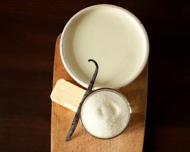 Ингредиенты для карамельного соуса