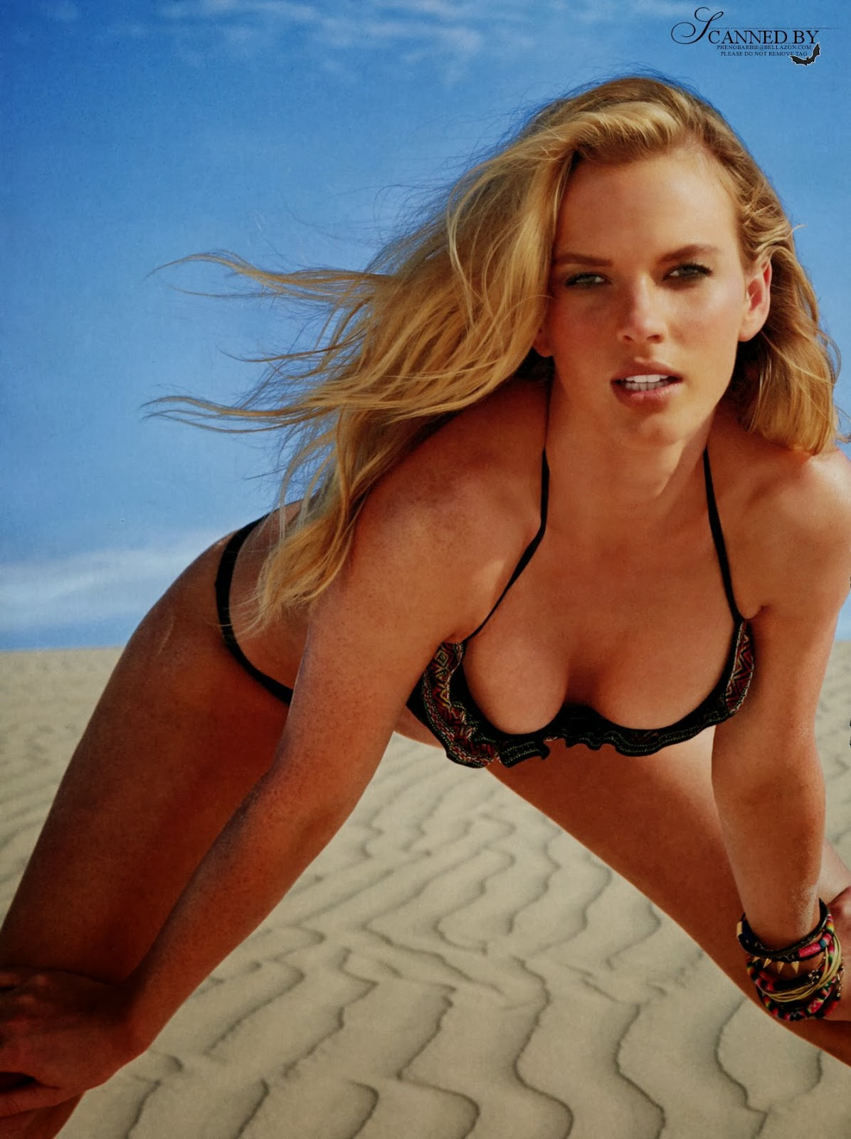 Anne Vyalitsyna HQ Pictures SI Swimsuit US Magazine Photoshoot 2014