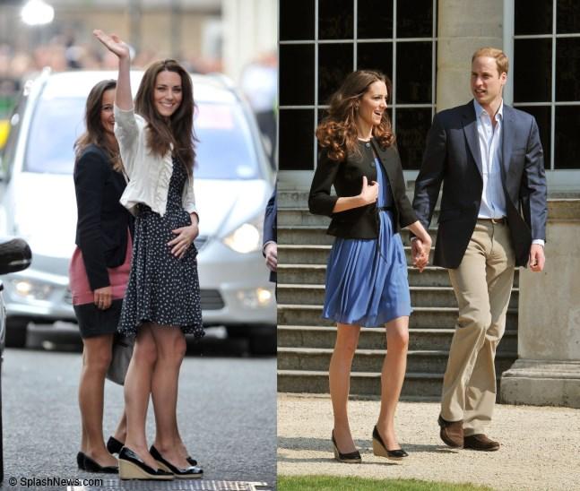 Duchess Kate Kate Loves Shoes Part 1