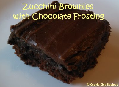 Zucchini Brownies Recipe by CookieClubRecipes