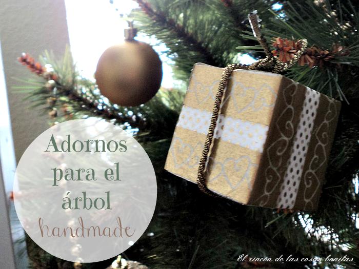 adornos árbol navidad porexpan washitape