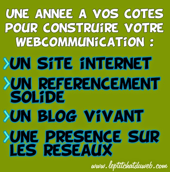 WebCommunication avec Le P'tit Chat du Web