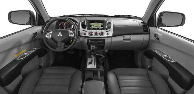 Nova versão da picape Mitsubishi L200 2014