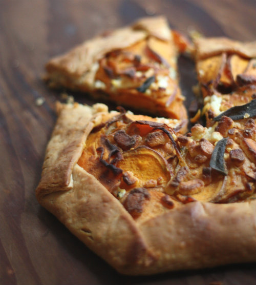 Savory Spring Vegetable And Goat Cheese Tart Recipe — Dishmaps