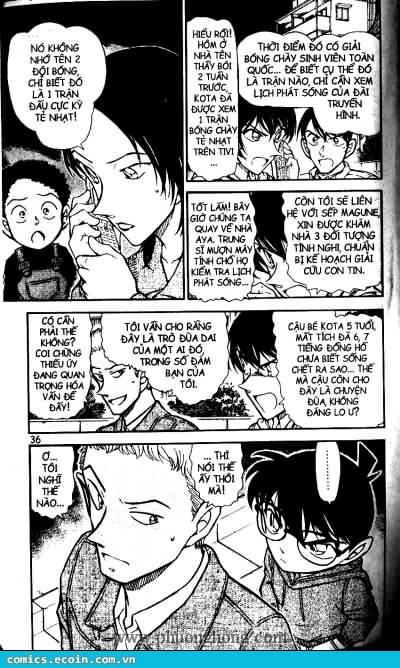 Detective Conan - Thám Tử Lừng Danh Conan chap 512 page 16 - IZTruyenTranh.com