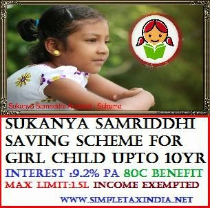 register sukanya samriddhi yojana