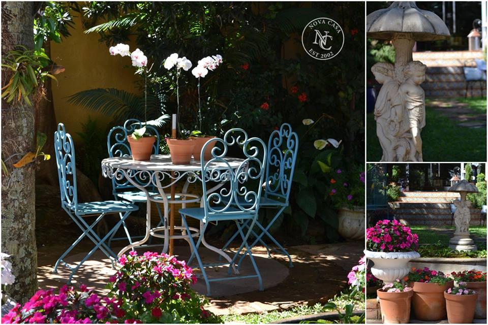 mesa de jardim ferro:Clara Castilho: Móveis de ferro são móveis com estilo!!!