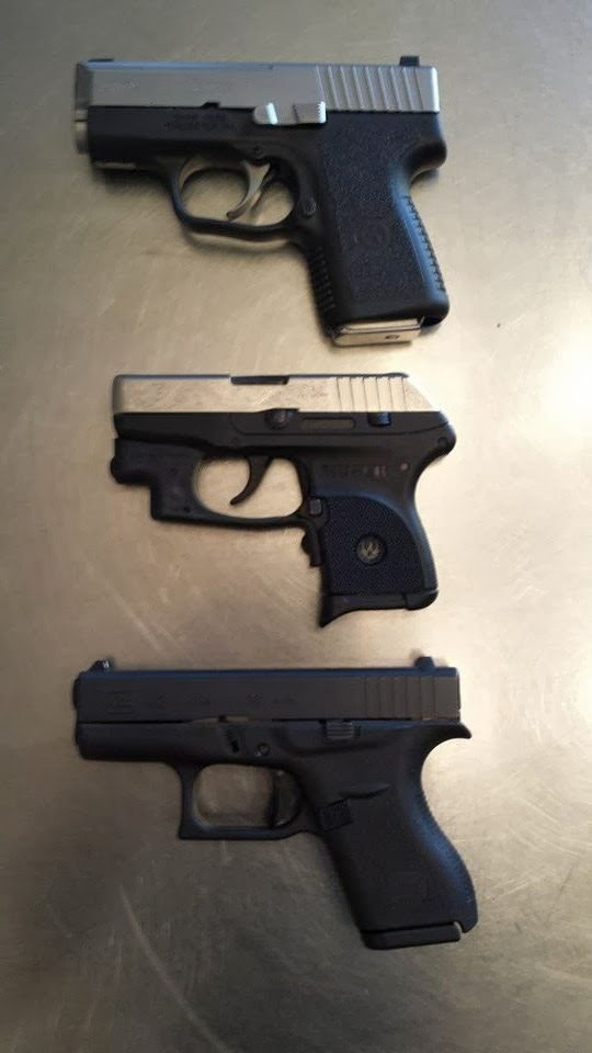 TWAW Yuma: Glock G42 .380 vs Ruger LCP .380: A Woman's ...