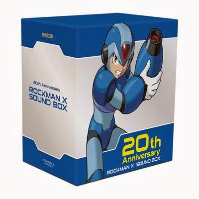 Capcom lanza un recopilatorio de bandas sonoras de Mega Man X