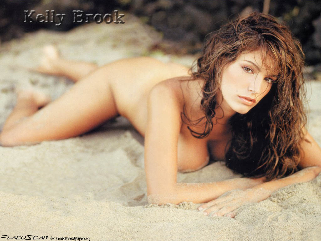 Nude Kelly Brook On Beach