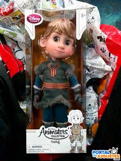 muñeco kristoff coleccion disney animators frozen caja