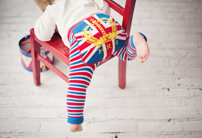 Blade & Rose HRH Leggings Royal Baby Gift Guide