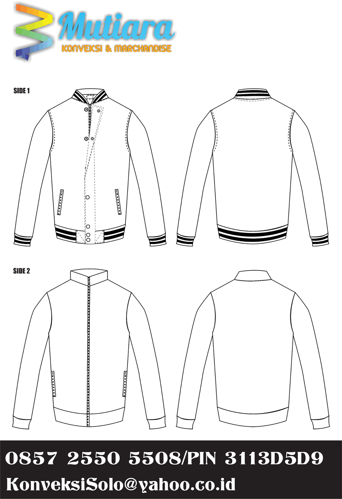letterman jacket template psd 2018