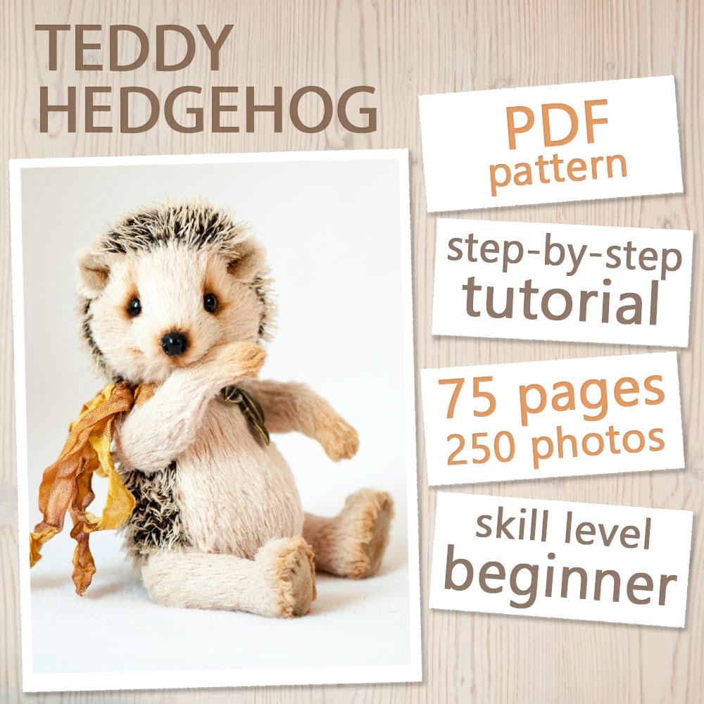 Teddy Hedgehog Pattern & Tutorial