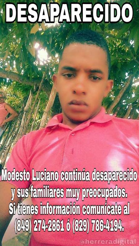 LO HAN VISTO!...Angustiada familia Bohechío, busca joven desaparecido en la capital