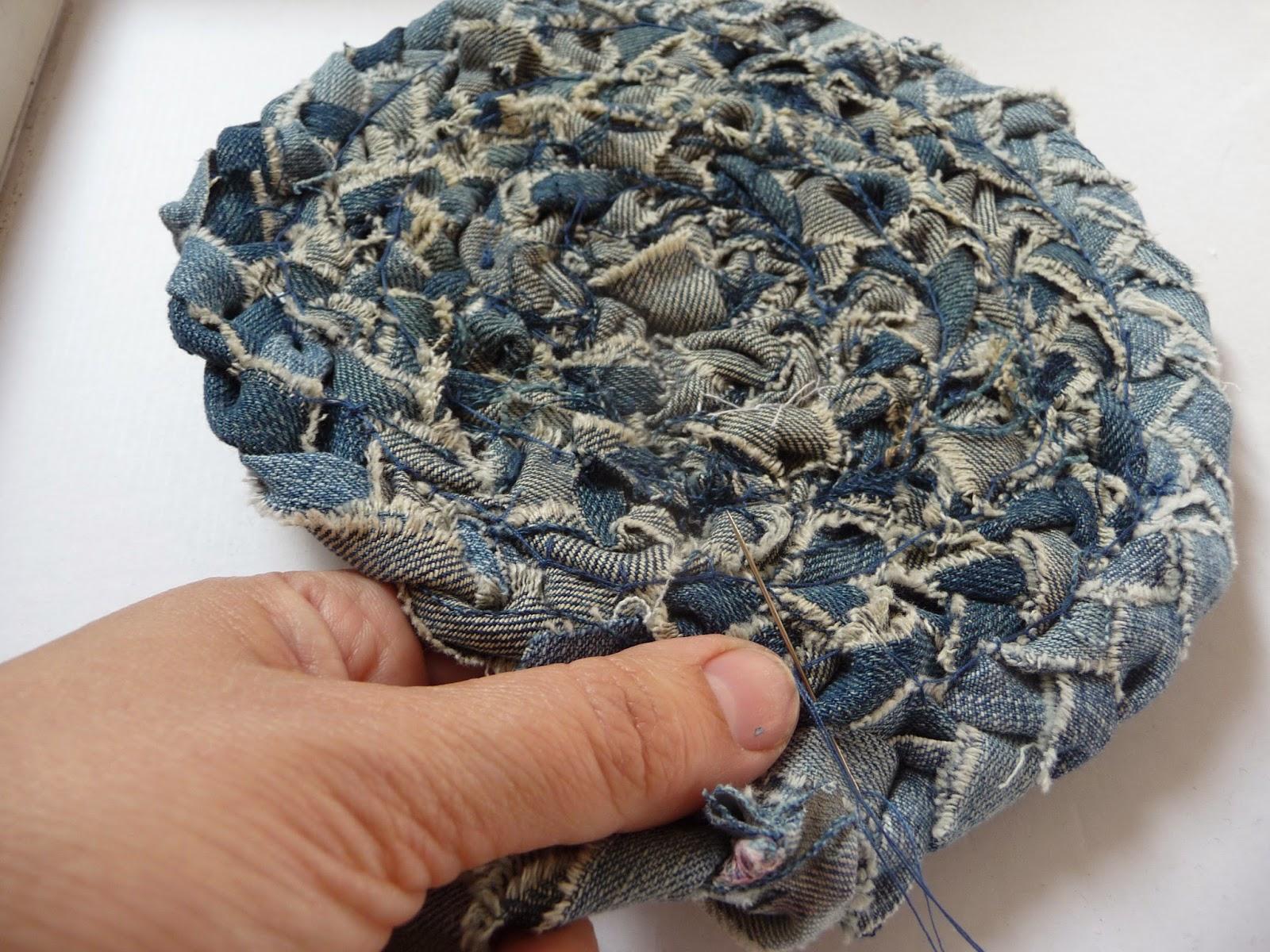 robienie dywanika ze szmatek