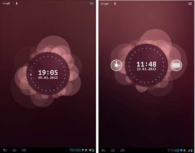 Ubuntu Phone OS style Android Live Wallpaper