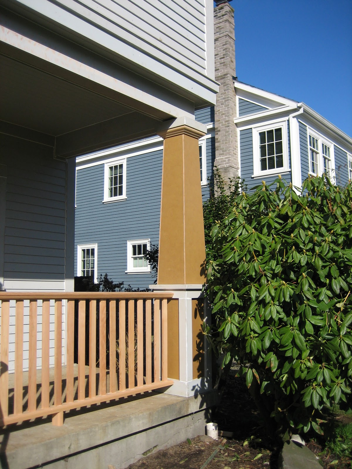 Craftsman House To Combs Home Front Porch Columns