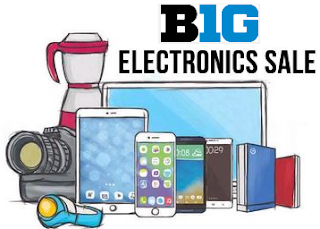 (Last Day) Paytm :  Get Electronics Big Day Sale and get Upto 60% Extra Cashback on Electronics(From 5th-7th January) buytoearn
