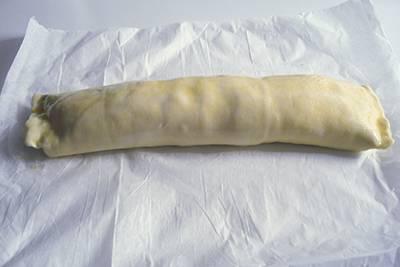 Strudel prosciutto scamorza e zucchine 7