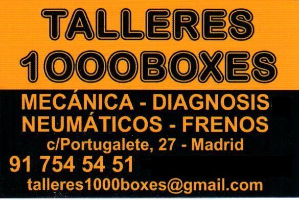 TALLERES 1000BOXES