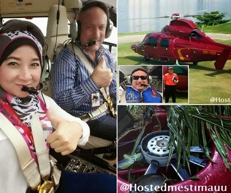 4 Gambar ngeri Wajah Cliff Fournier pilot Ajdiana Baiziera co pilot yang terhempas