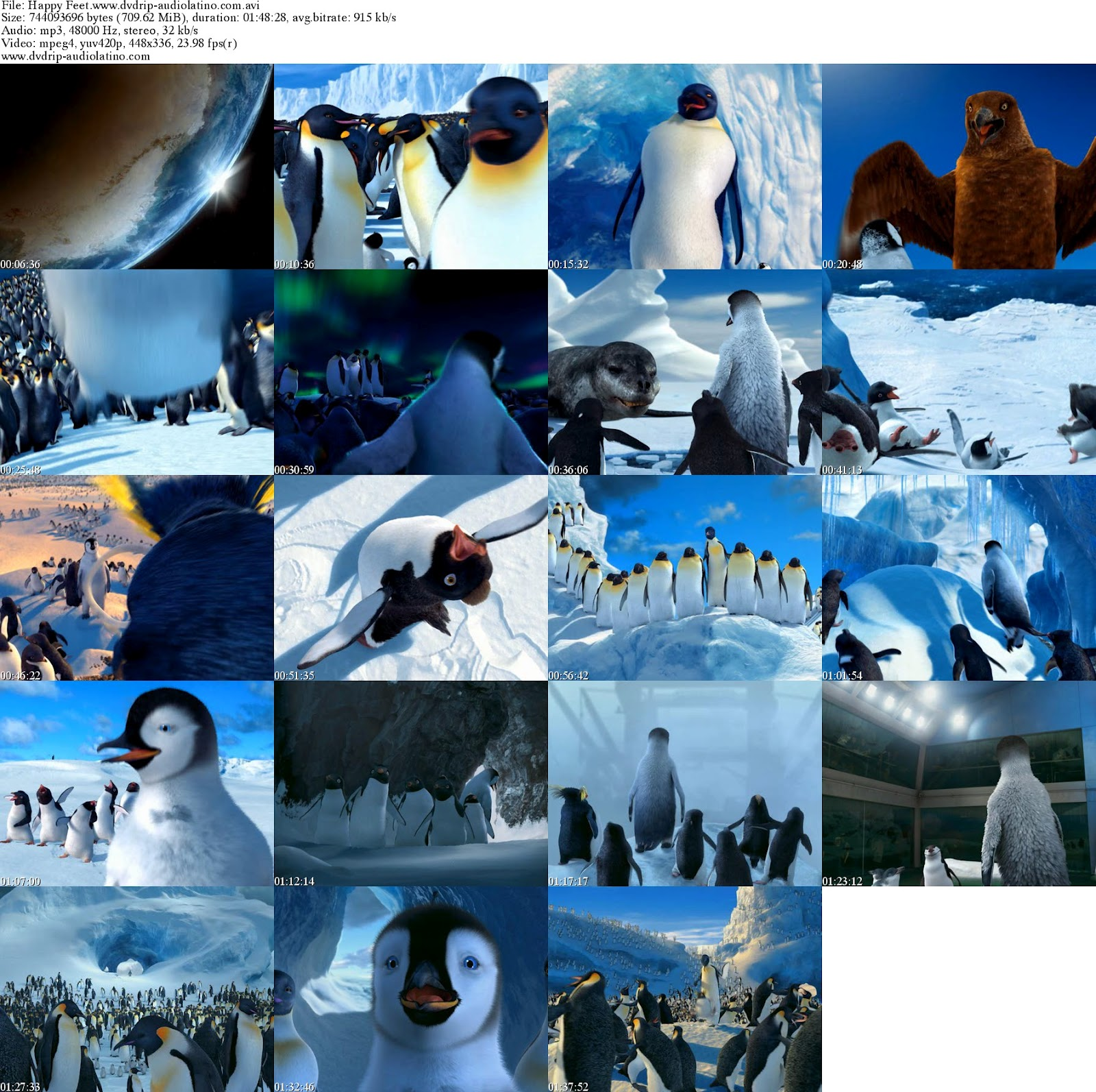 Happy Feet DVDRip 2006 - Bing images