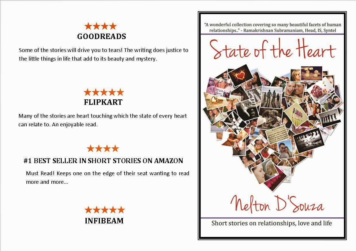 Read the excerpt of the bestseller 'State of the Heart' by Nelton D'Souza