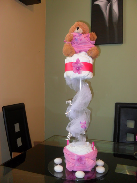 Centerpiece for Girl Babyshower