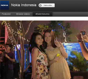 Website Nokia Lumia