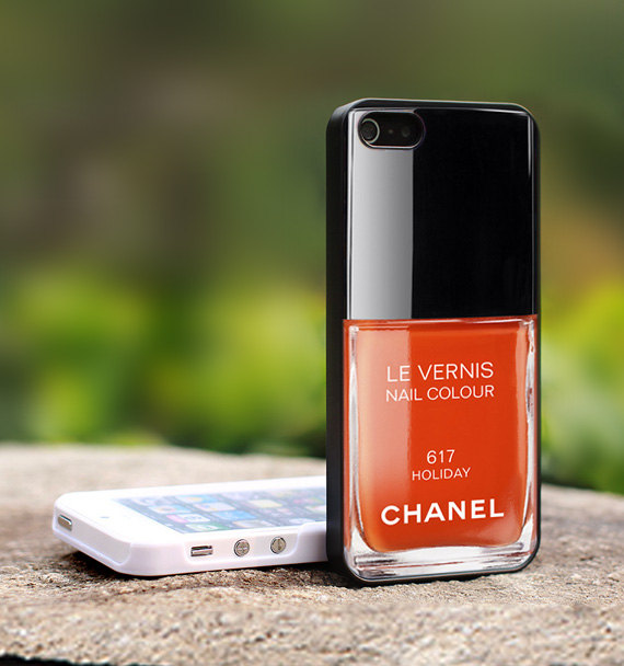 Little Bird Tell: Chanel Nail Polish iPhone Case