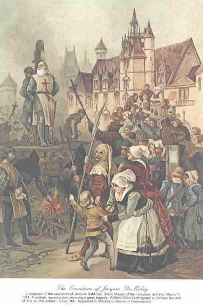 Templars - Tempeliers: Jacques De Molay