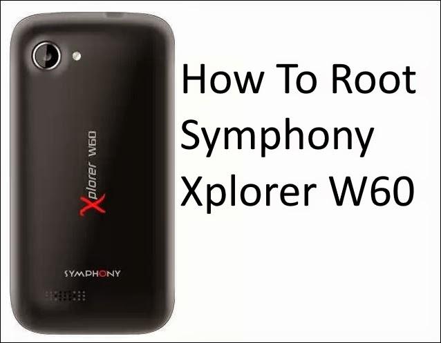 root symphony xplorer W60