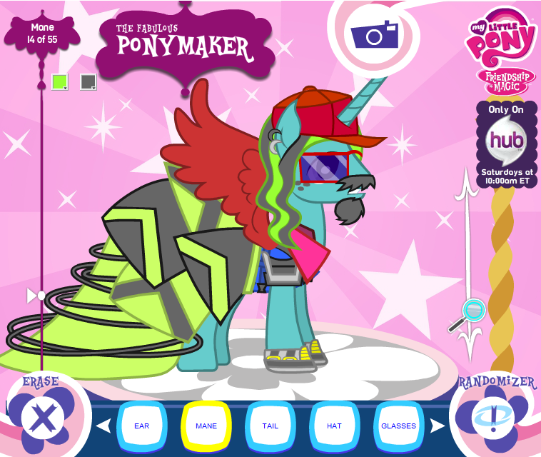 My Little Pony News: Hub Ponymaker on Facebook