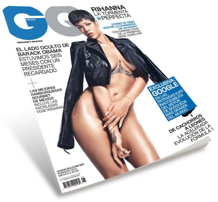 Portada Rihanna Gq M C A Ico Febrero