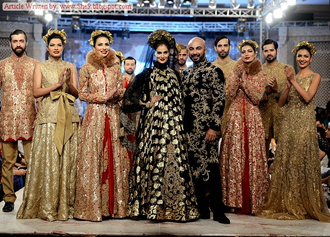 HSY Bridal Collection at Fashion Show