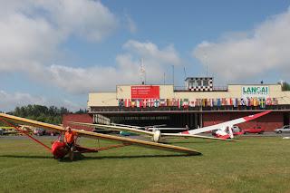 Hangars Vol a Vela Aeròdrom de Pociūnai. Lituania.
