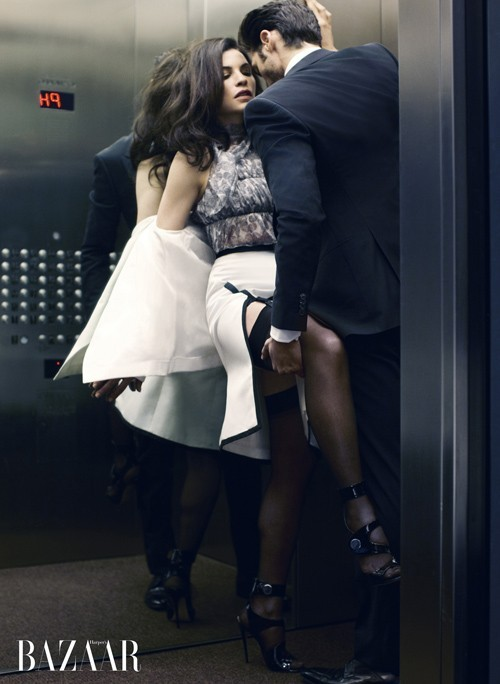 people standing in elevator. regardless of your location, if you are asked by another to press a button, it is proper follow that request or inform the person standing closest people in elevator f