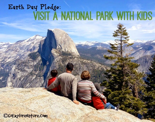 Earth Day Pledge: Visit a National Park with Kids