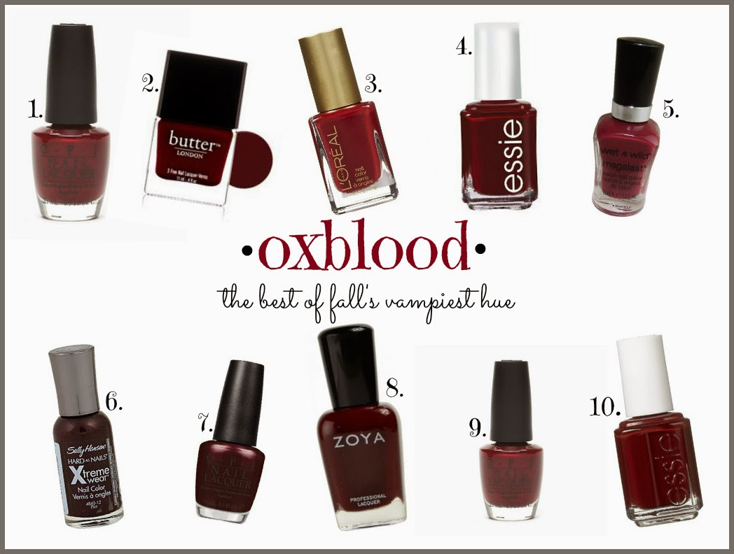 Oxblood Red Nail Polish Essie - Nails Gallery