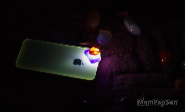 камушки светятся в темноте